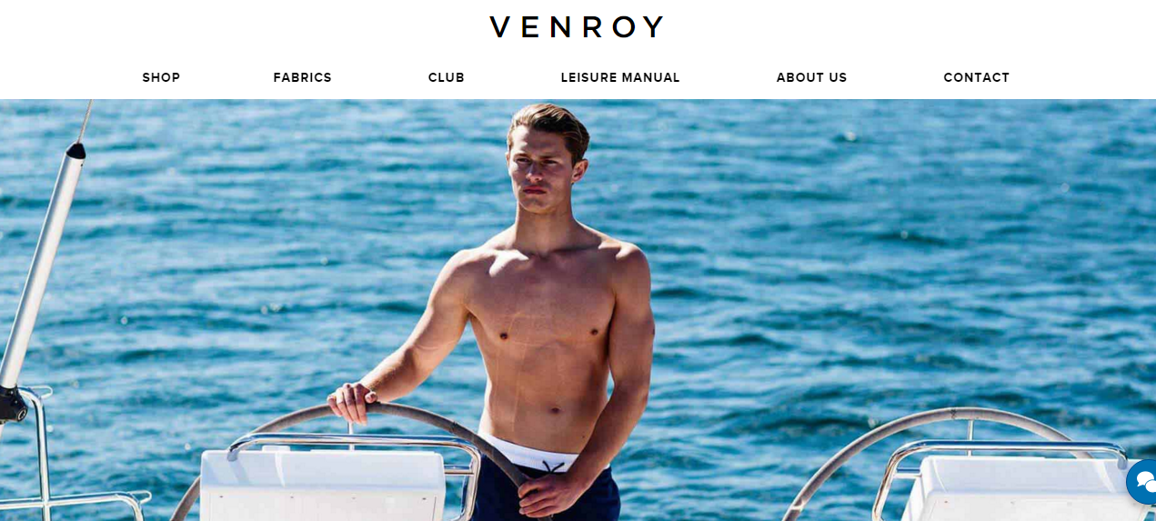 Magento 2 shops showcase: Venroy