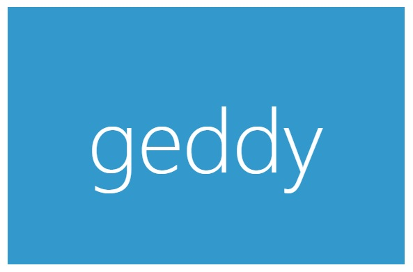 Geddy Node.js Full Stack Framework