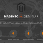Magento 2 Seminar in The Netherlands (January 22nd 2016)