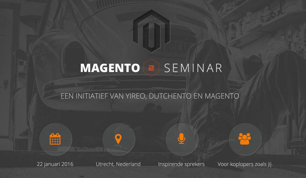 Magento 2 Seminar