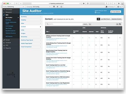 SEO software, SEO check, SEO audit