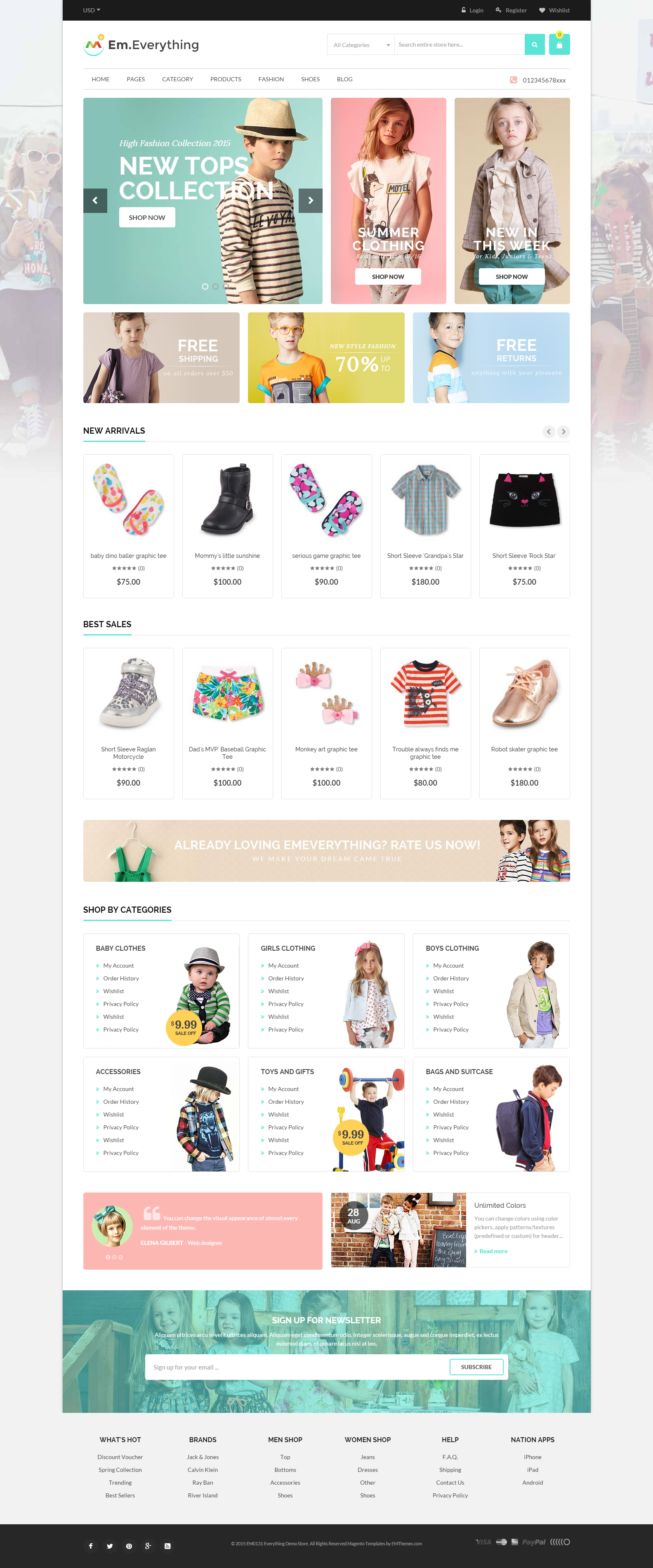 Everything Store Magento 2 Theme
