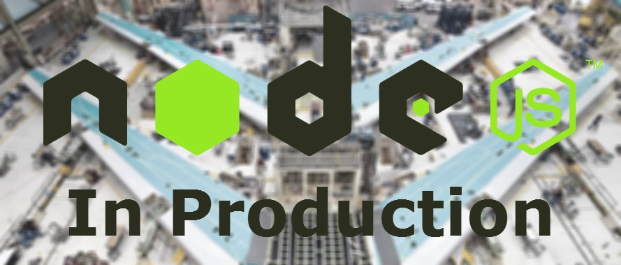 Production websites on Node.js