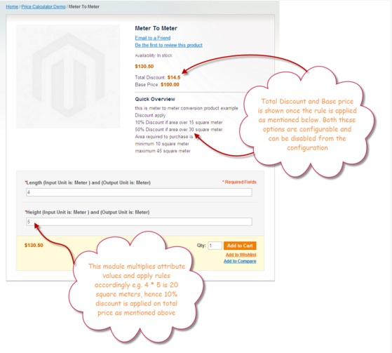 product units Magento extension