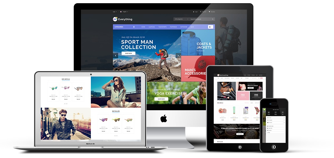 ThemeForest Everything Store Magento 2 Theme