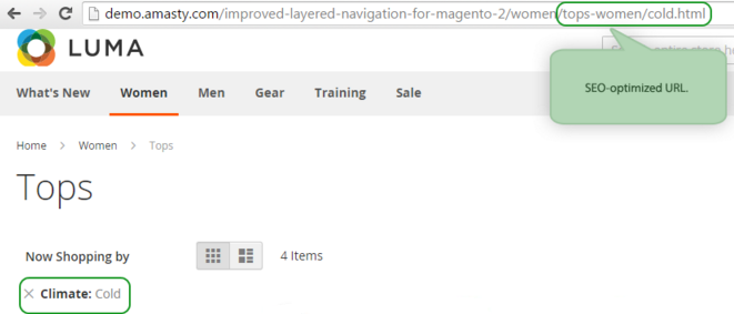 Improved Layered Navigation für Magento 2