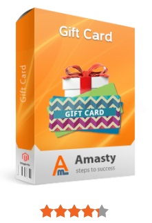 Amasty Gift Card Magento Extension; Amasty Gift Card Magento 2 Module