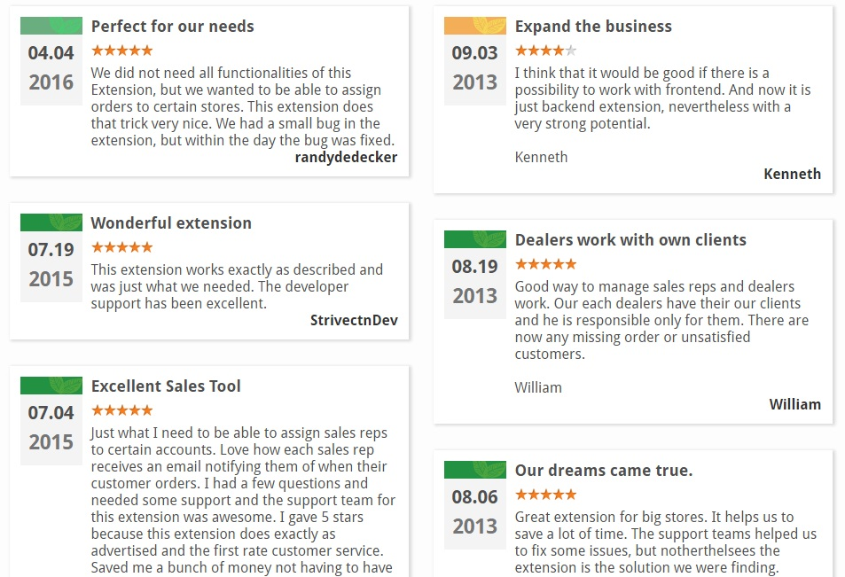 Amasty Sales Reps and Dealers Magento Extension; Amasty Sales Reps and Dealers Magento 2 Module