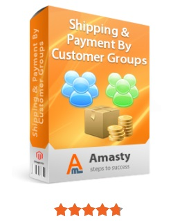 Amasty Shipping & Payment By Customer Groups Magento Extension; Amasty Shipping & Payment By Customer Groups Magento 2 Module