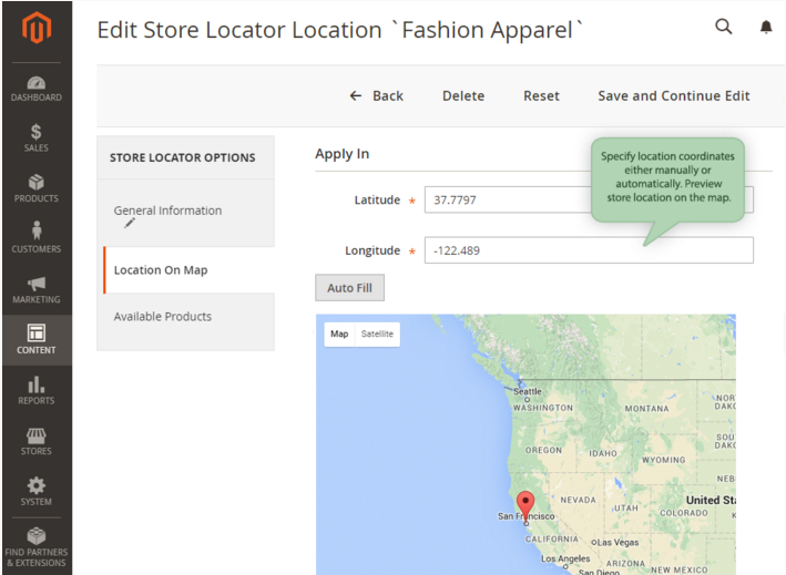 Amasty Store Locator Magento 2 Extension; Amasty Store Locator Magento Extension