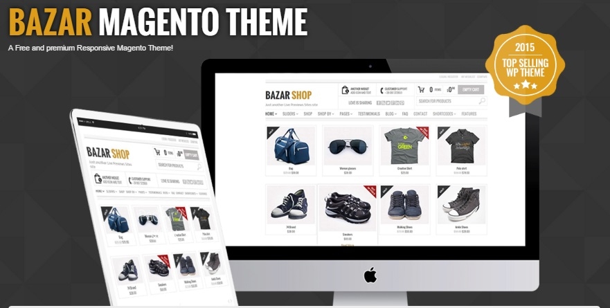 Bazar Shop Magento 2 Theme; Bazar Shop Magento 2 Template