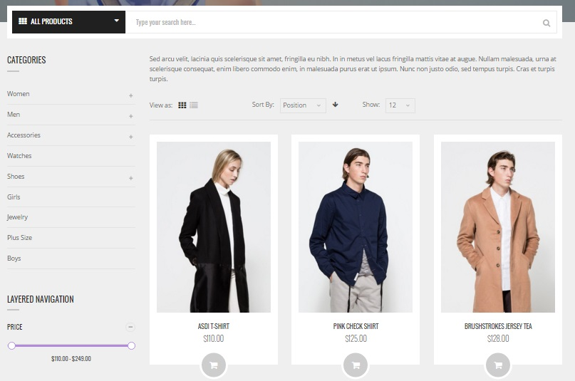 Luxury Magento 2 Theme; Luxury Magento 2 Template