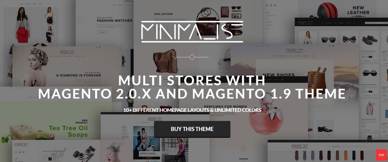Minimal Magento 2 Theme; Minimal Magento 2 Template
