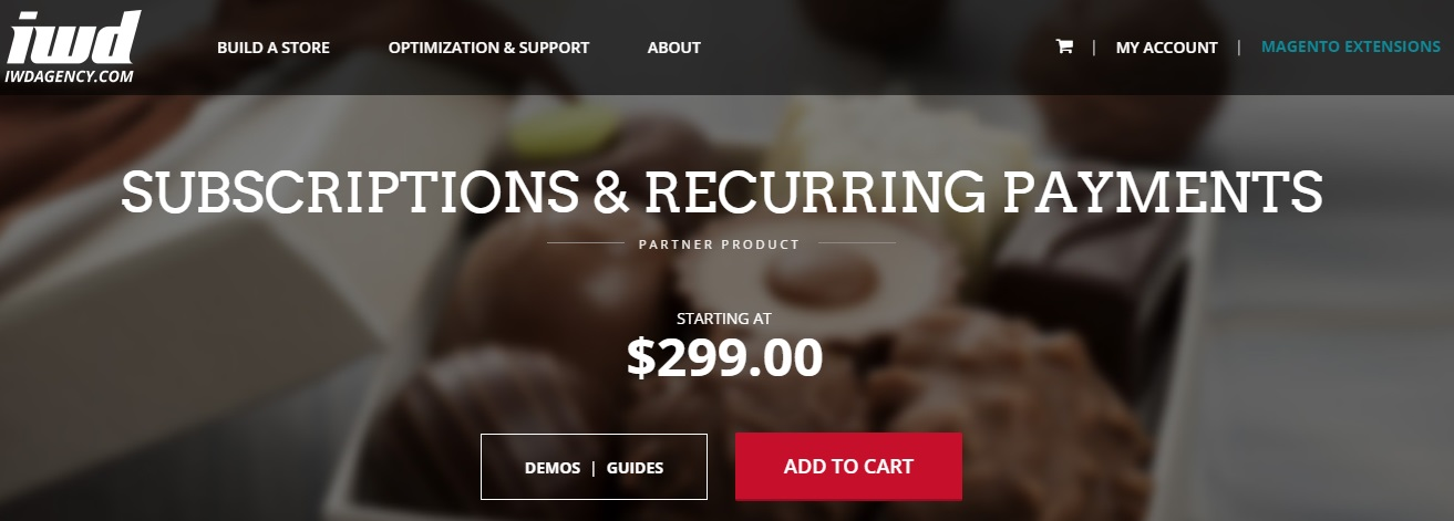 Subscriptions and Recurring Payments Magento Extension