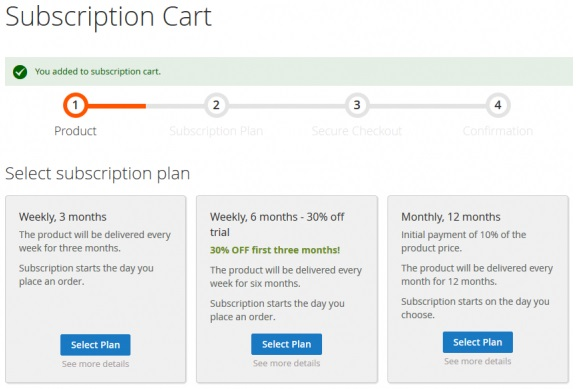 Subscription & Recurring Payments Magento 2 Modules