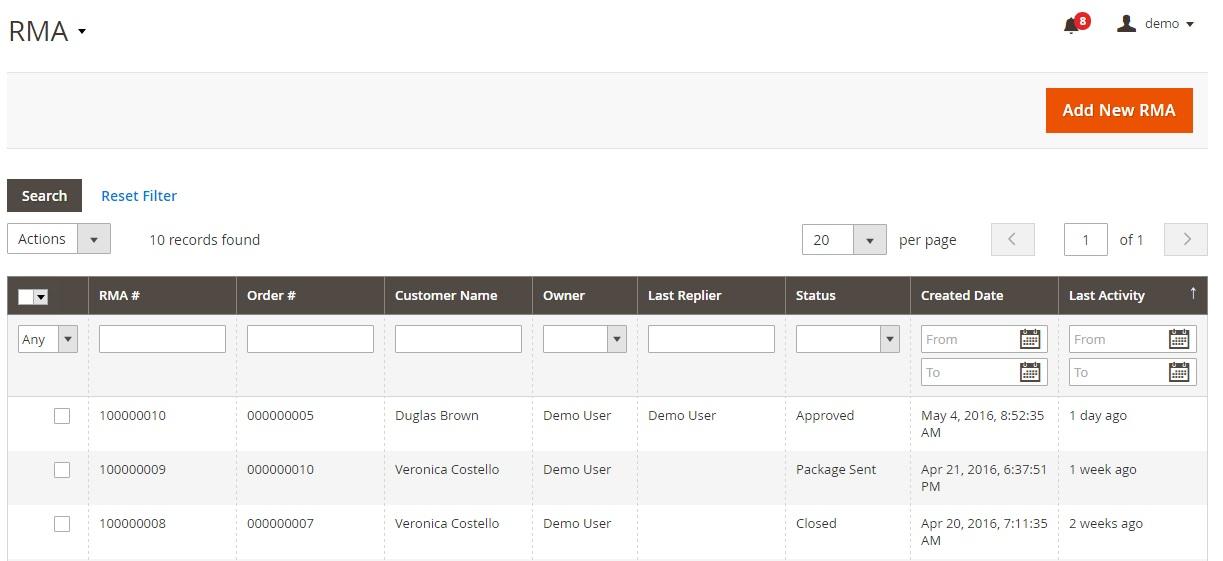 Mirasvit RMA Magento Extension Review; Mirasvit RMA Magento 2 Module Overview