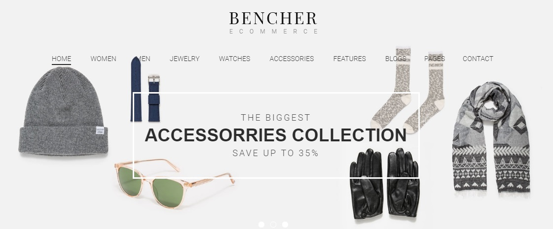 Bencher Magento 2 Theme Review; Bencher Magento 2 Template Overview