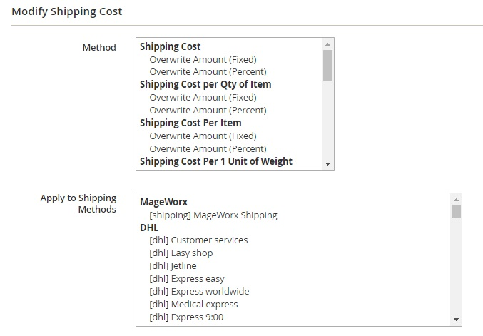 MageWorx Shipping Suite Magento 2 Extension Review; MageWorx Shipping Suite Magento Module Overview