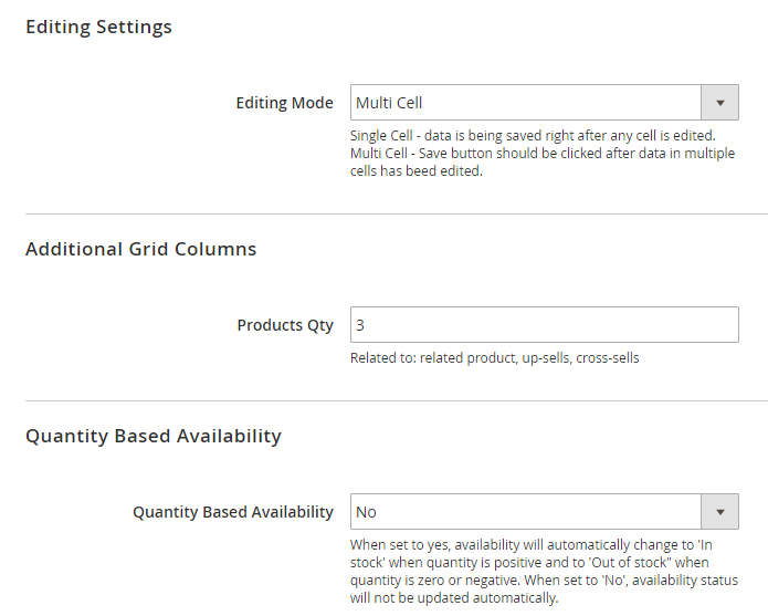 Amasty Extended Product Grid with Editor Magento 2 Extension Review; Amasty Extended Product Grid with Editor Magento Module Overview