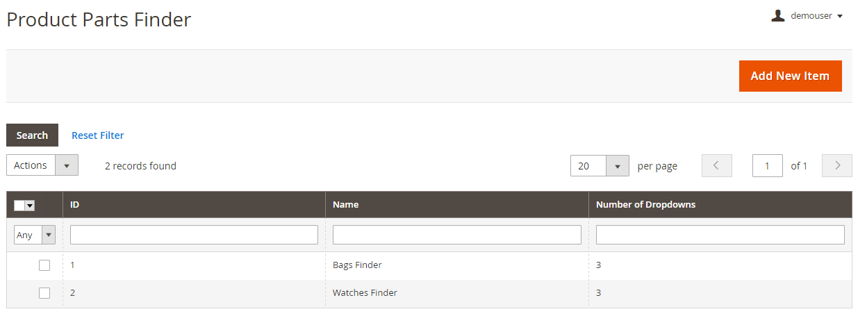 Amasty Product Parts Finder Magento 2 Extension Review; Amasty Product Parts Finder Magento Module Overview