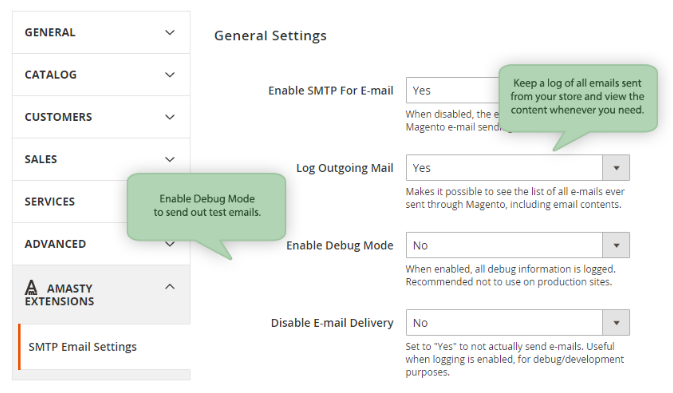 Amasty SMTP Email Settings Magento 2 Extension Review; Amasty SMTP Email Settings Magento Module Overview