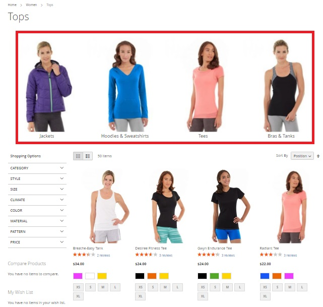 Nucleus Subcategory Listing Magento 2 Extension Review
