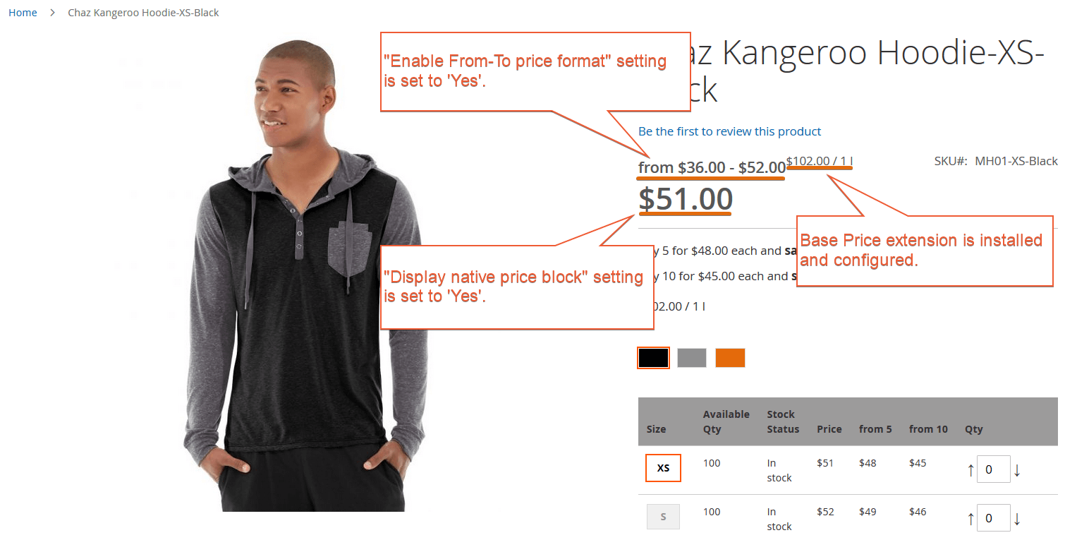 Magento 2 Improved Configurable Product Extension