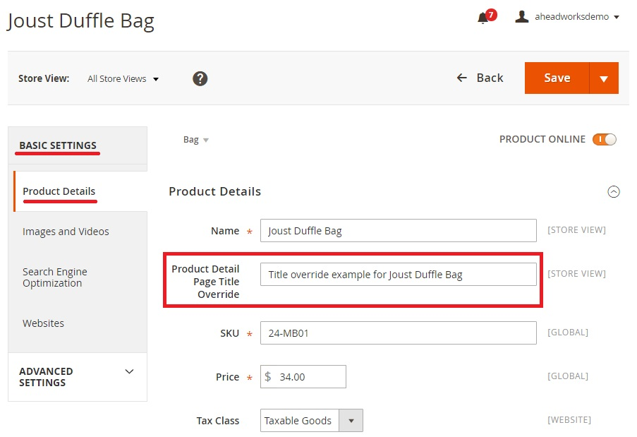 Nucleus Page Title Override Magento 2 Extension Review
