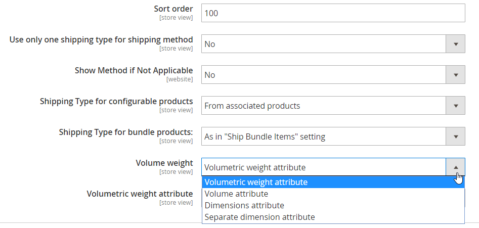 Amasty Dimensional Shipping Weight for Magento 2 | FireBear