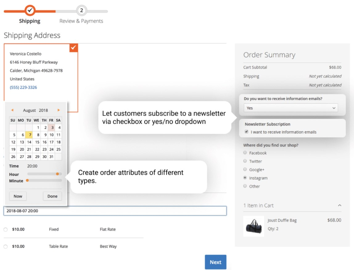 Amasty Order Attributes for Magento 2 and 1   FireBear