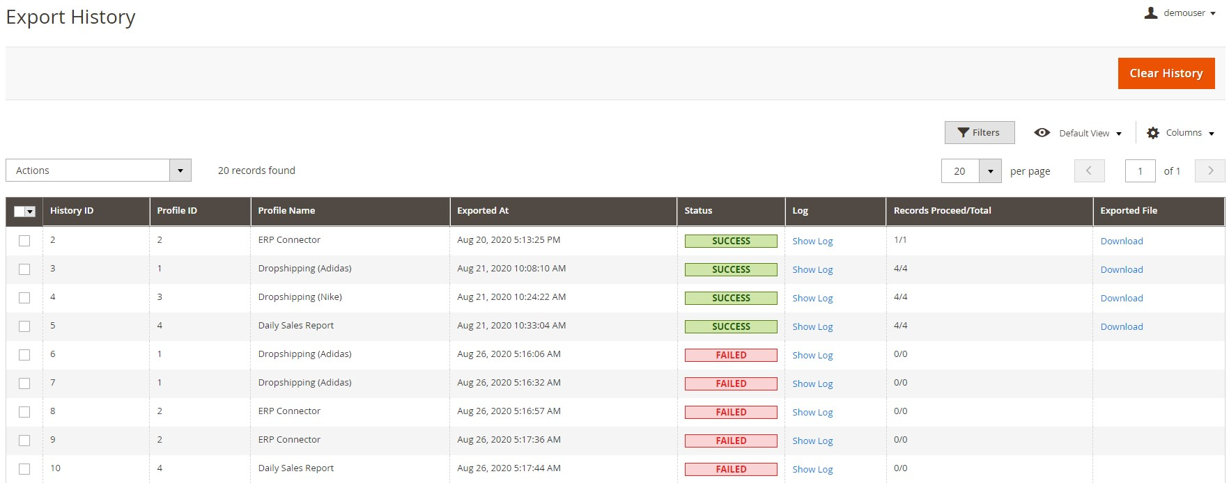 Amasty Magento 2 Order Export module review