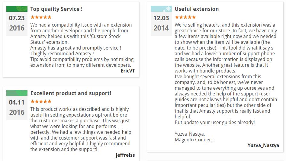 Amasty Custom Stock Status Magento 2 Extension Review; Amasty Custom Stock Status Magento Module Overview