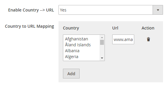 Amasty GeoIP Redirect for Magento 2 and 1 Country to URL Redirect