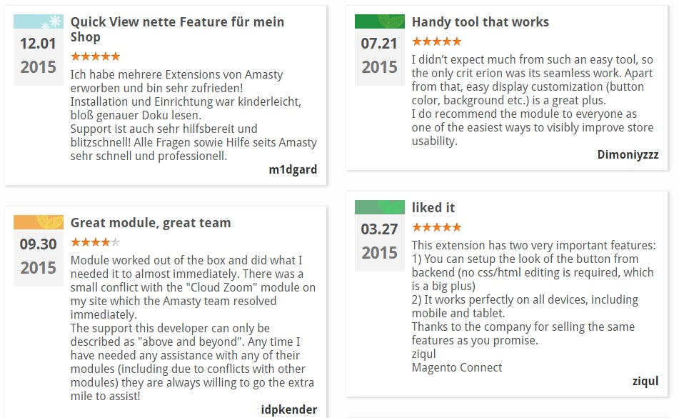 Amasty Quick View Magento Extension Review; Amasty Quick View Magento Module Overview