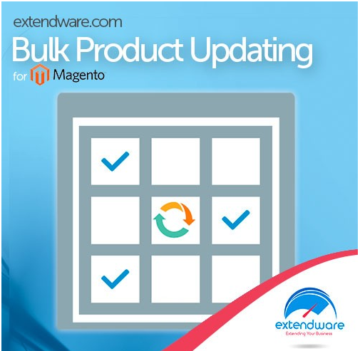 Extendware Bulk Product Updating Magento Extension Review; Bulk Product Updating Module Overview