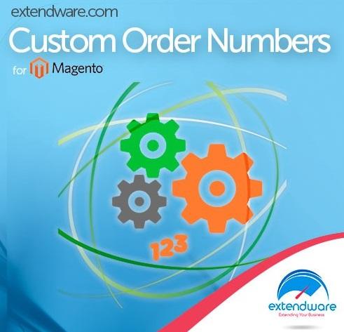 Extendware Custom Order Numbers Magento Module Overview