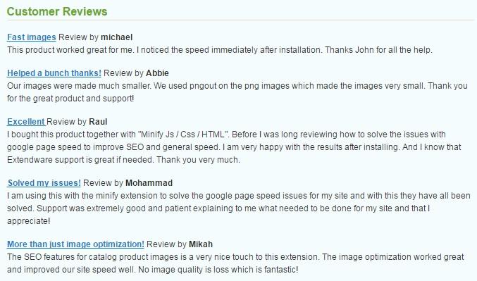 Extendware Image Optimization  Magento Extension Review; Image Optimization Module Overview