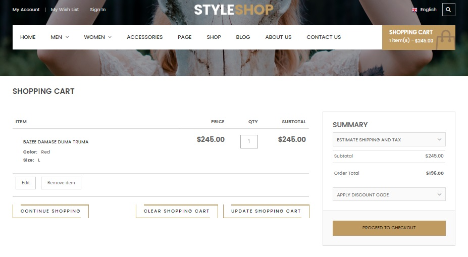 Styleshop Magento 2 Template Review; Styleshop Magento 2 Theme Overview