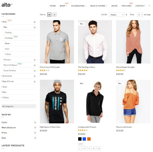 Alto Magento 2 Theme Review; Alto Magento 2 Themplate Overview