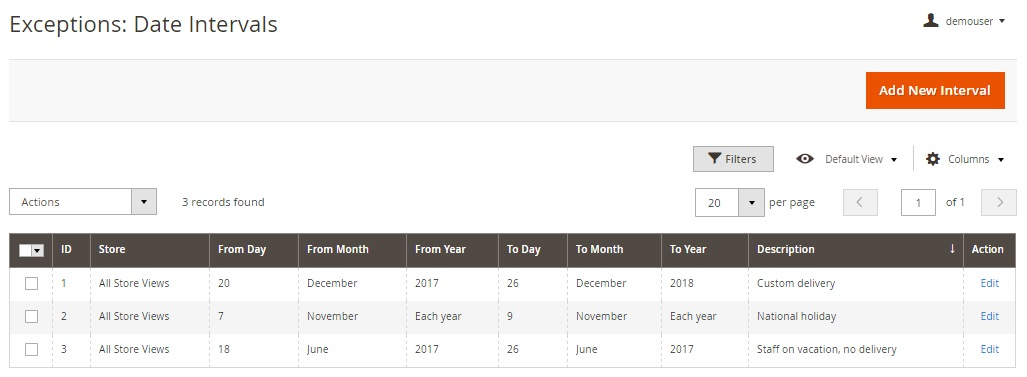 Amasty Delivery Date Magento 2 Extension Module