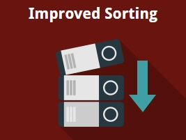 Magento 2 product sorting extension