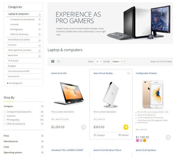 Electro Magento 2 Theme Review; Electro Magento 2 Template Overview