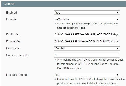 Extendware Anti-Spam Captcha Magento Extension Review; Extendware Anti-Spam Captcha Magento Module Overview