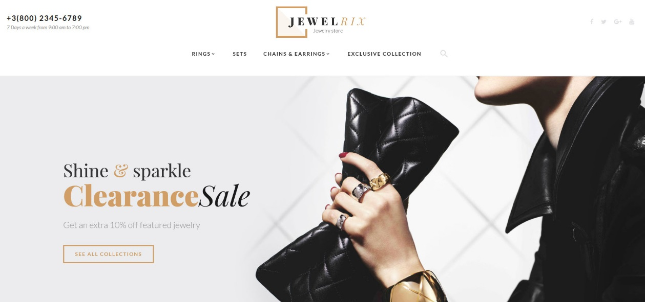 Jewelrix Magento 2 Theme Review; Jewelrix Magento 2 Template Overview