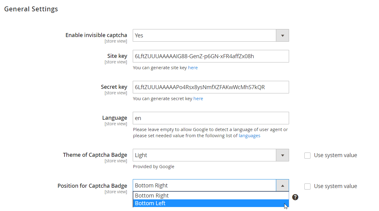 Amasty Google Invisible reCaptcha for Magento 2 and 1 | FireBear