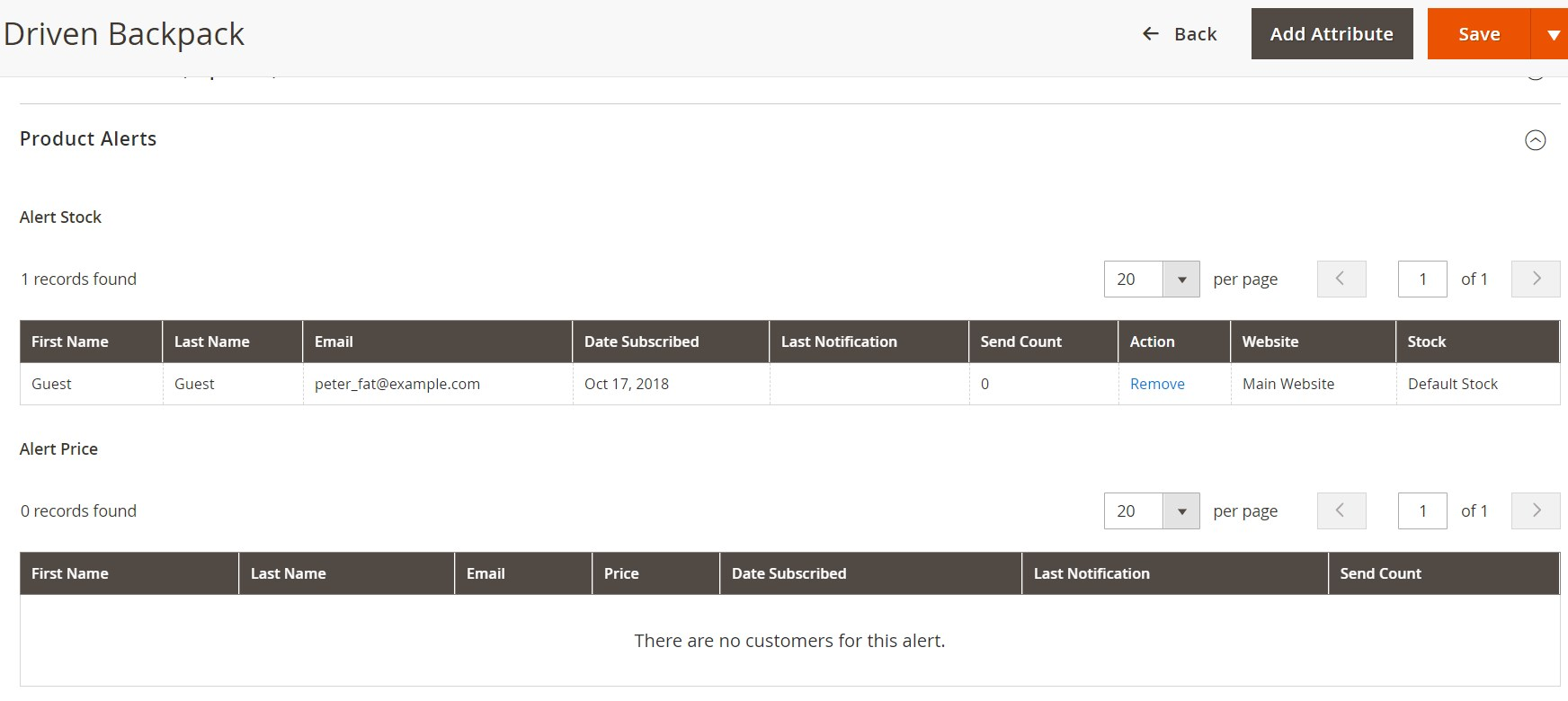 Amasty Out of Stock Notification Magento Extension Review; Amasty Out of Stock Notification Magento Module Overview