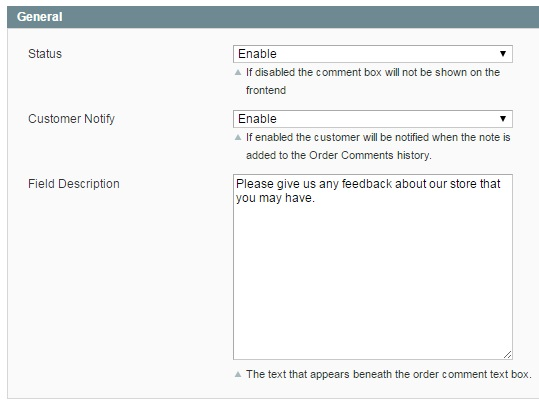 Extendware Order Comments Magento Extension Review; Extendware Order Comments Magento Module Overview