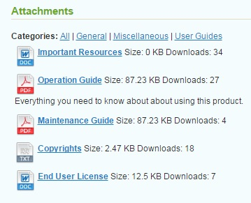 Extendware Product Attachments Magento Extension Review; Extendware Product Attachments Magento Module Overview