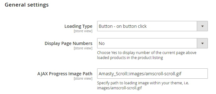 Amasty Infinite Scroll Magento 2 Extension