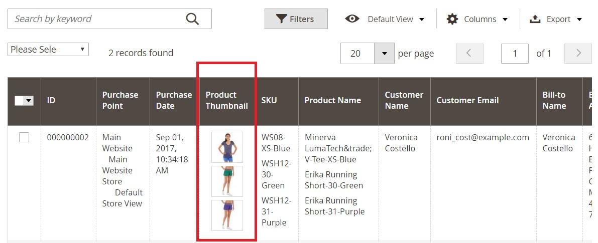 Magento 2 Sales Orders Grid Management
